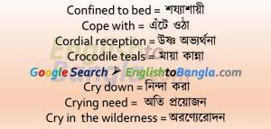 Idioms & Phrases Lesson 49
